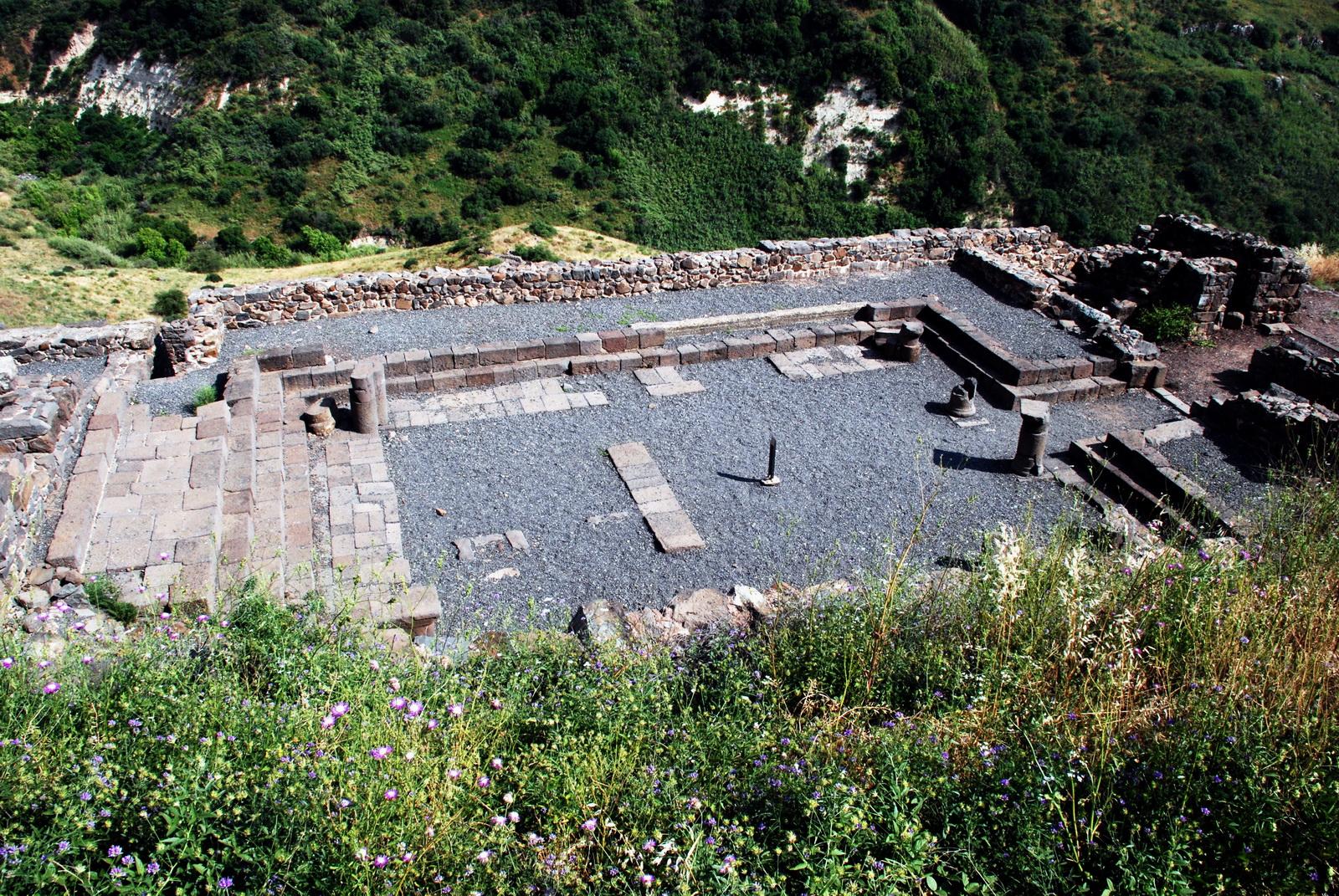 גמלא - מתחם בית הכנסת