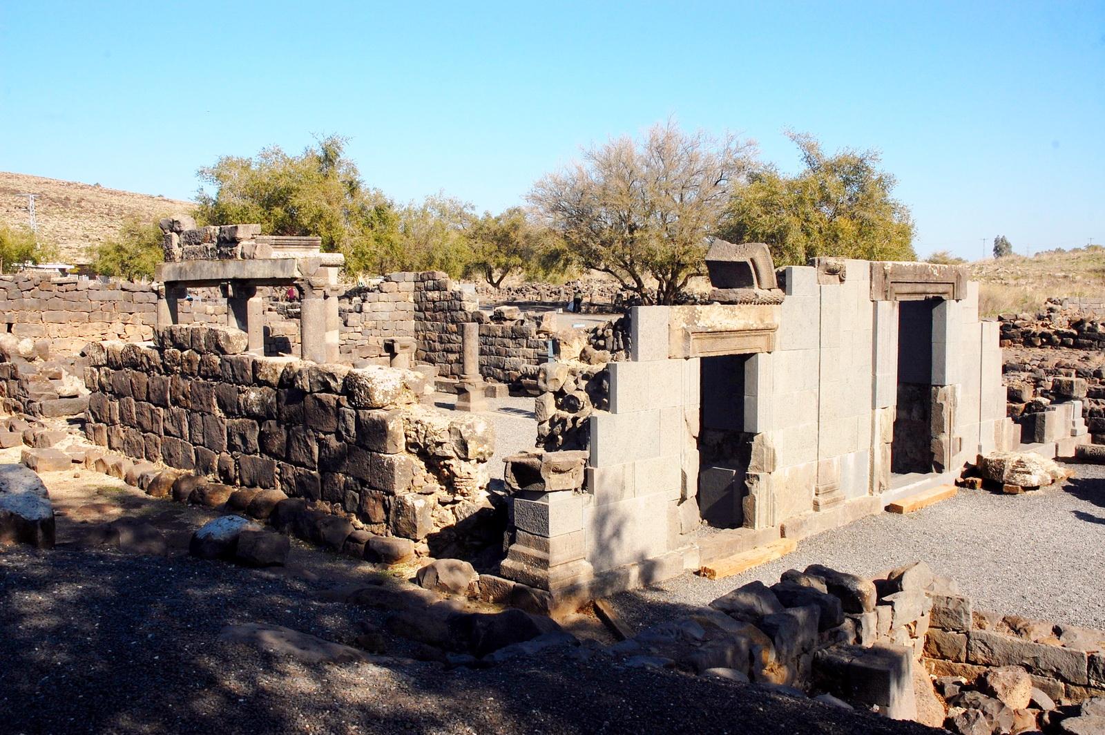 בית הכנסת בכורזים - מבט כללי