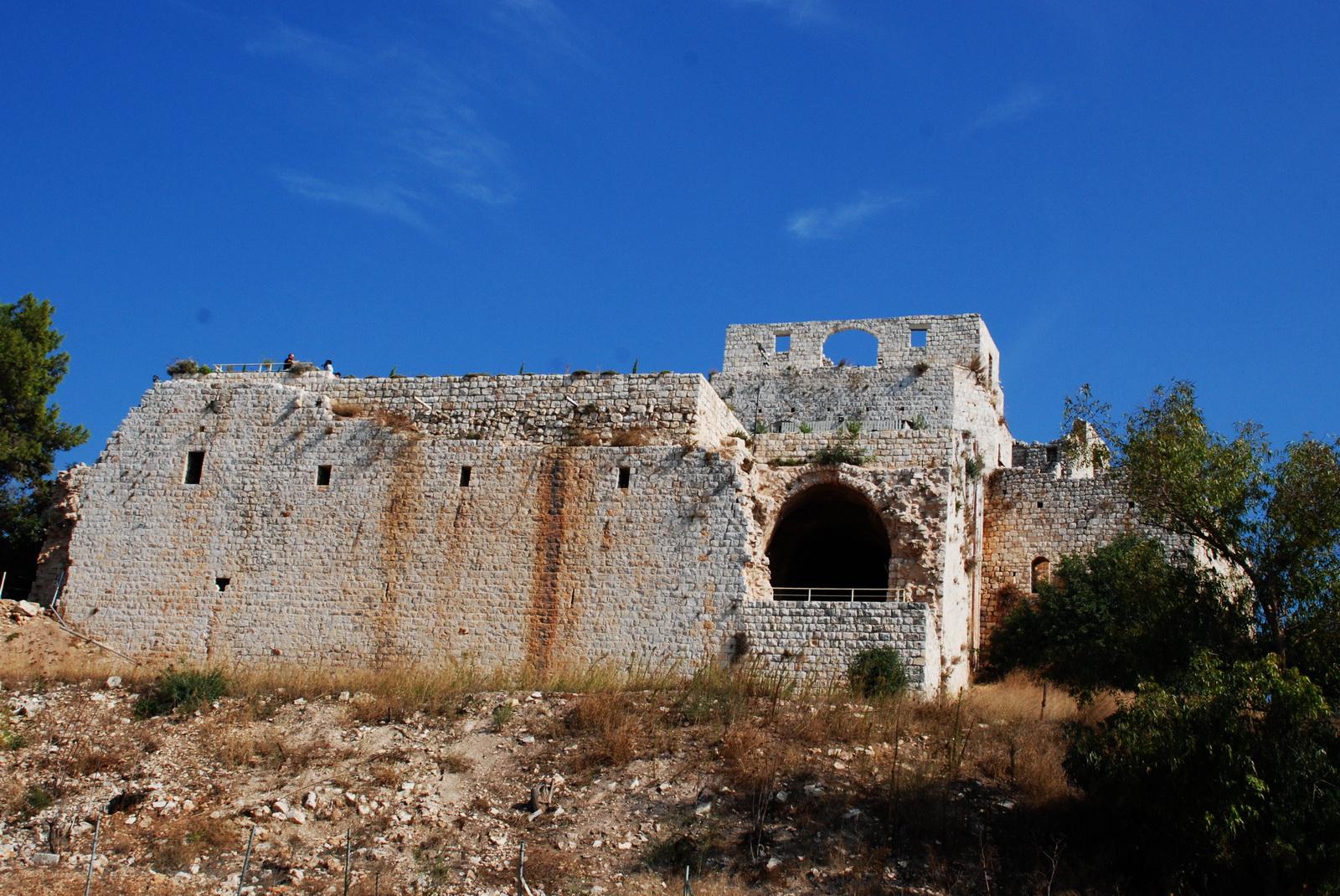 גליל מערבי - קלעת ג'דין = מבצר יחיעם - מבצר צלבני אדיר ושמור