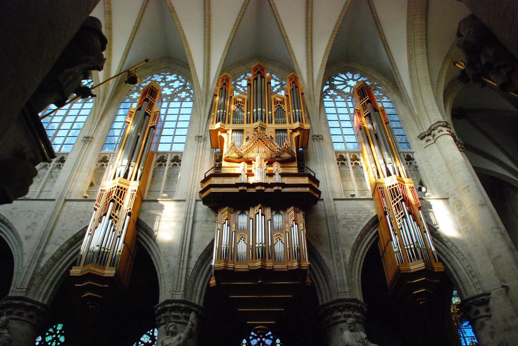 בריסל - הקתדרלה - פנים