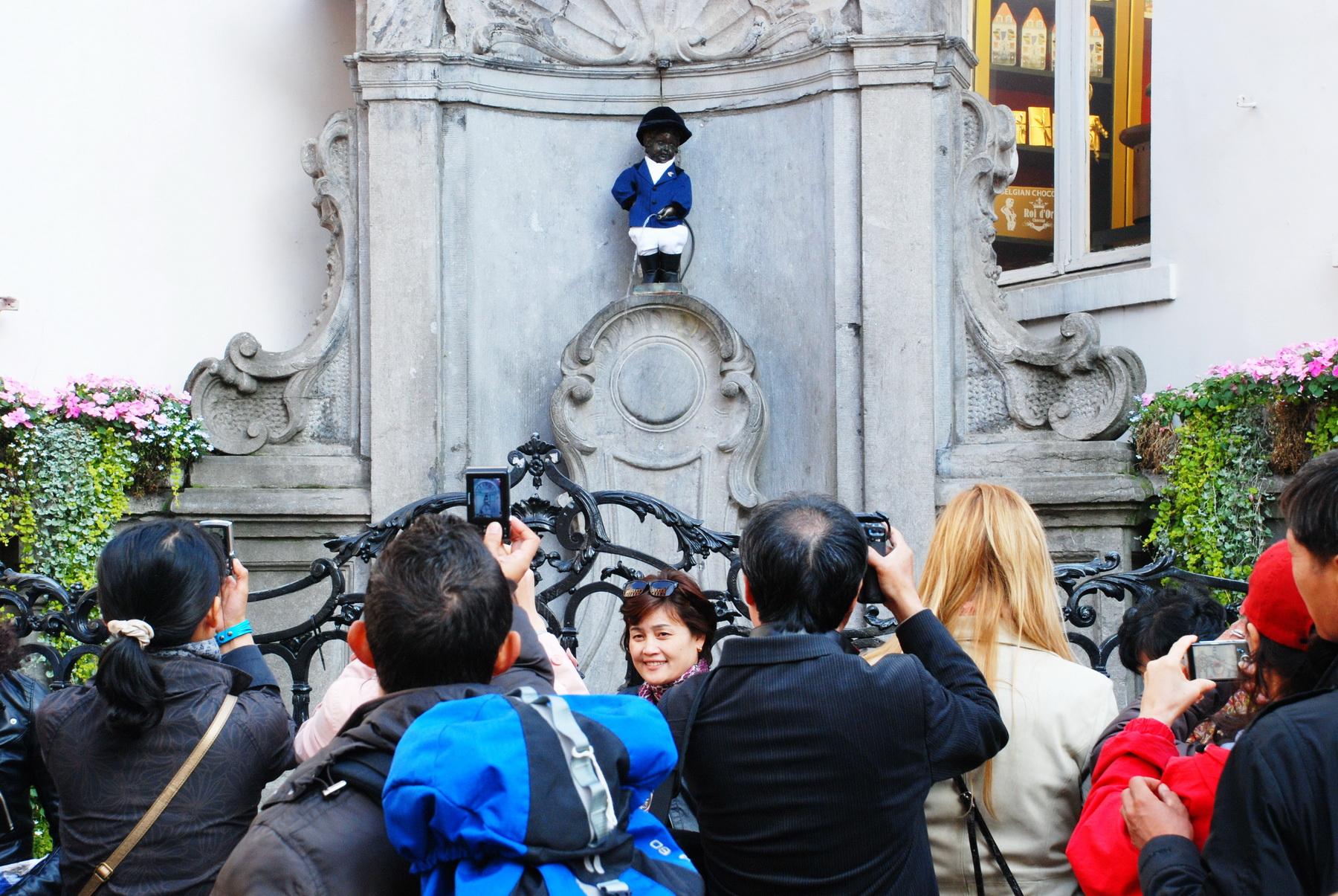 בריסל - מנקן פיס - הפסלון בגודלו האמיתי