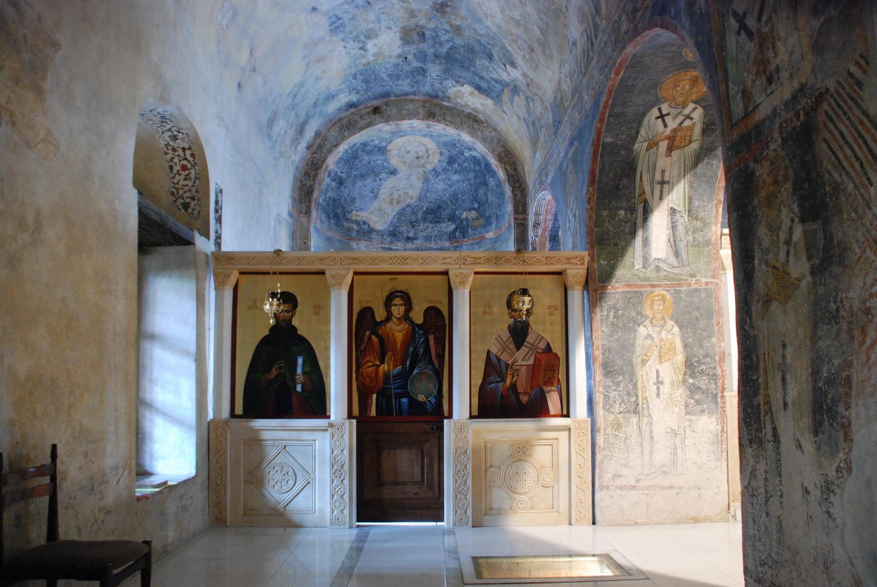 אוחאריד - כנסיית קונסטנטין - פנים