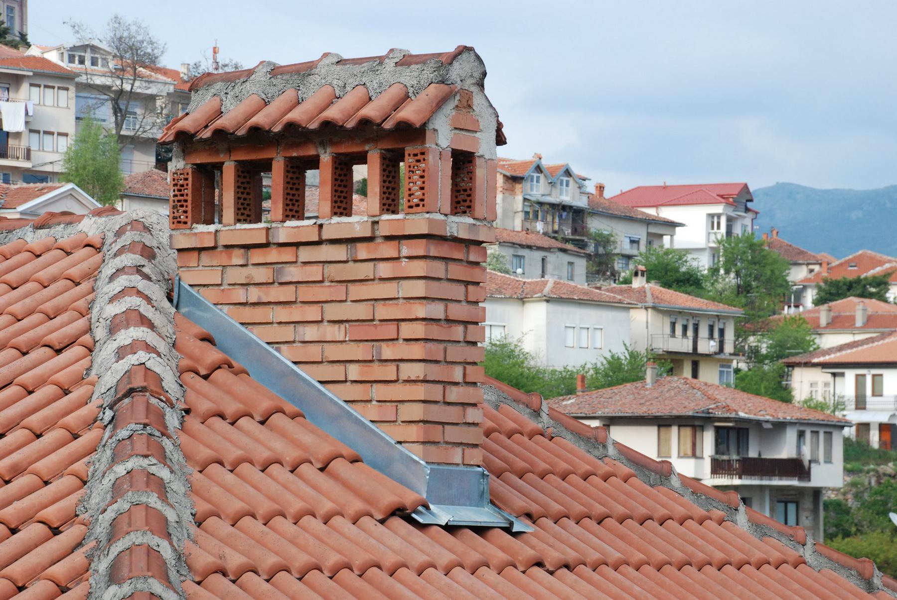 מקדוניה - נוף גגות אופייני