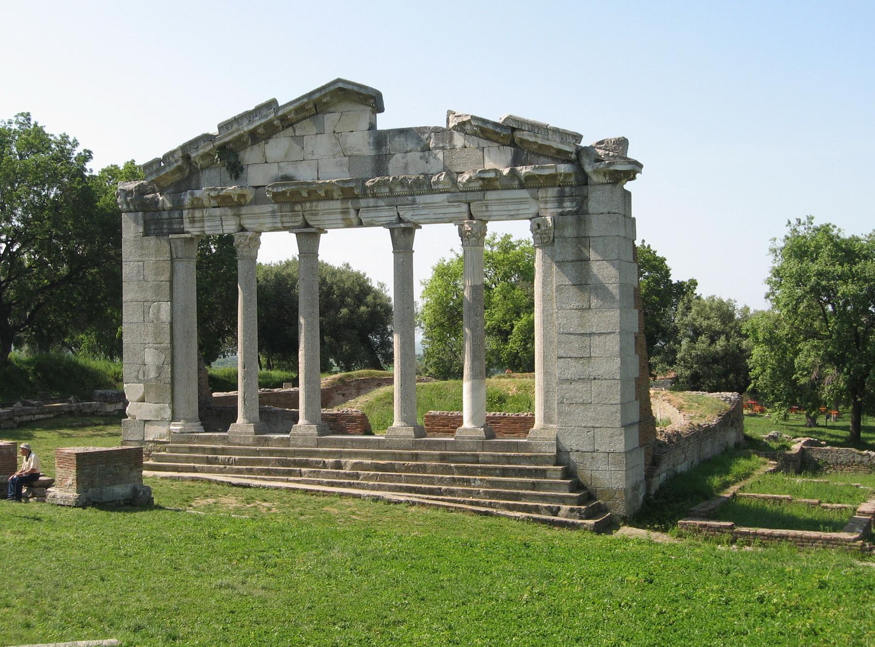 אלבניה - שרידי אפולוניה