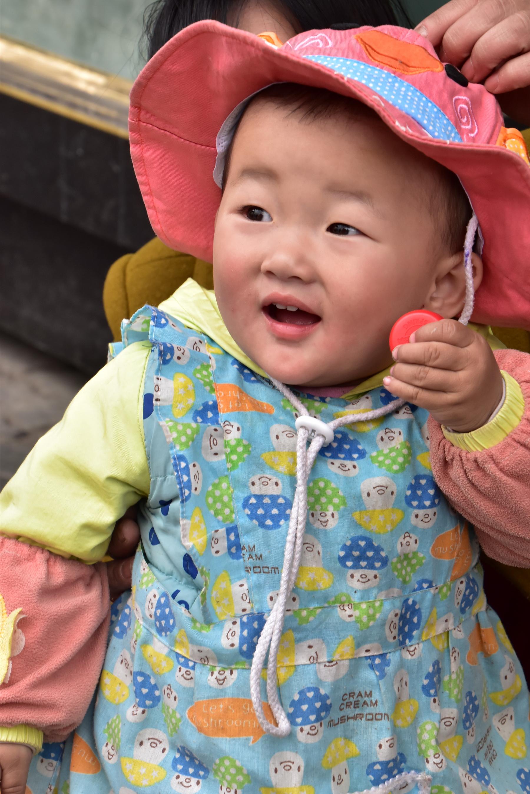 סין - ילדה
