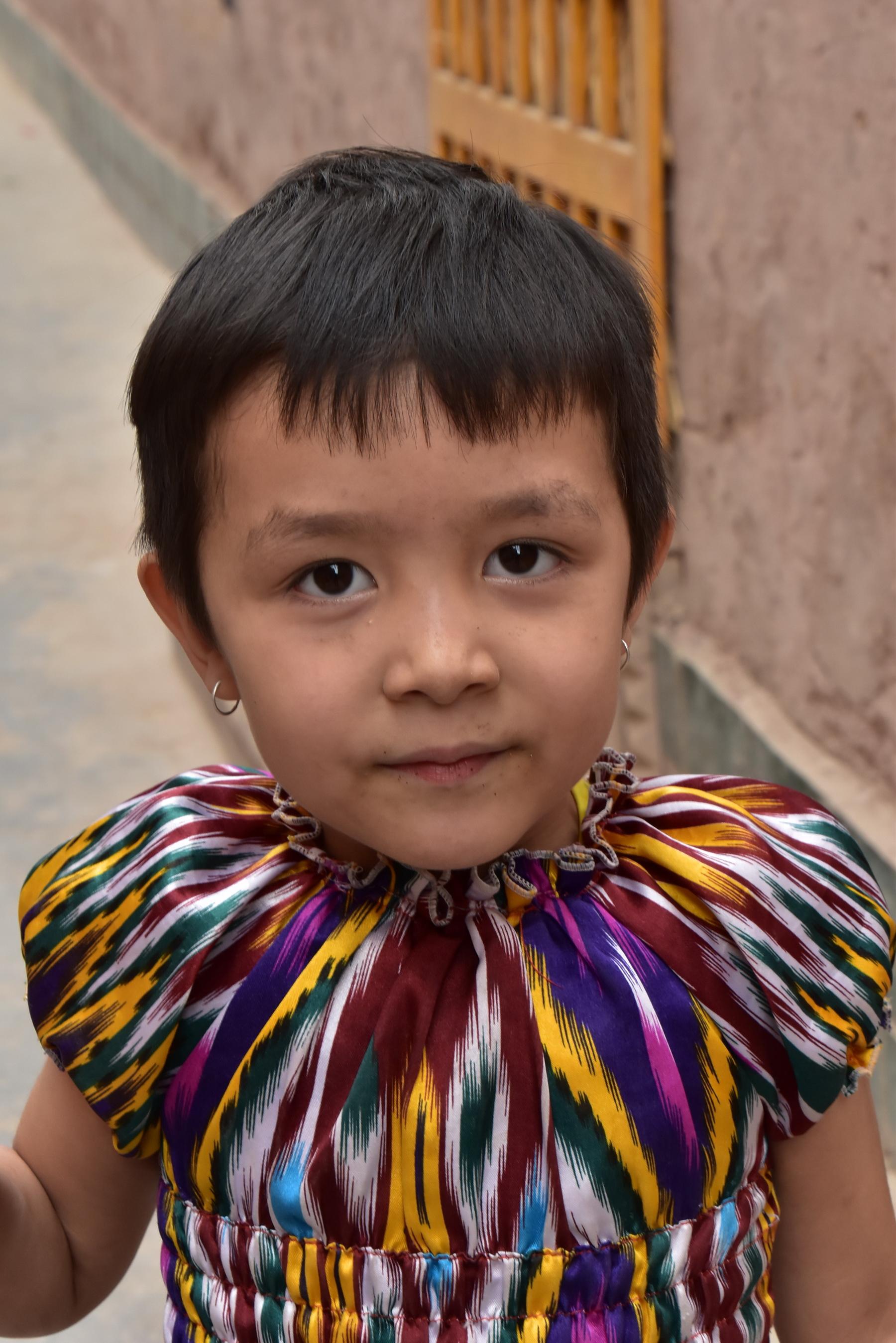 סין - ילדונת חמודה