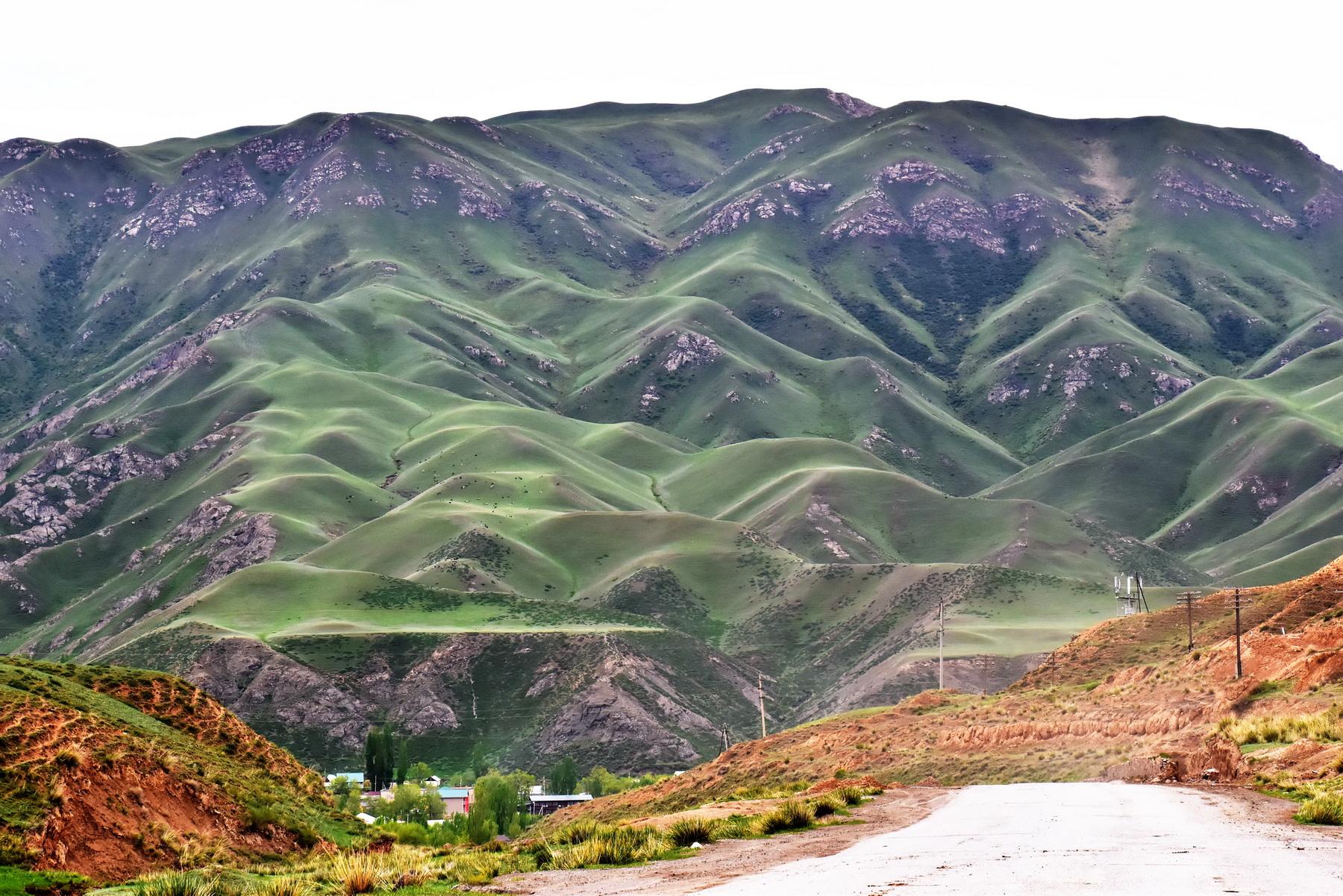 דרך המשי - הרים ירוקים