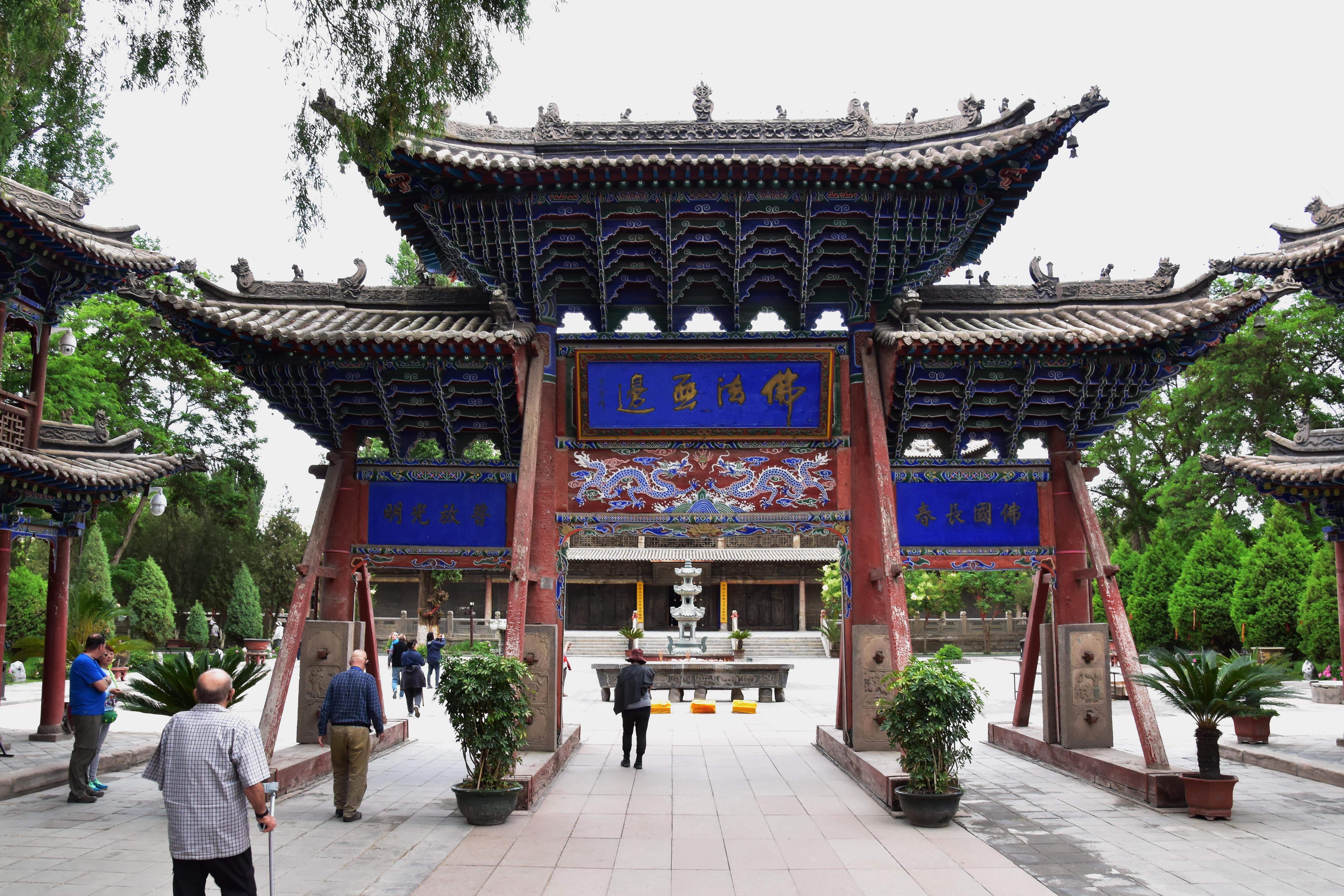 035 - ג'אנג יה - מקדש הבודהה השוכב