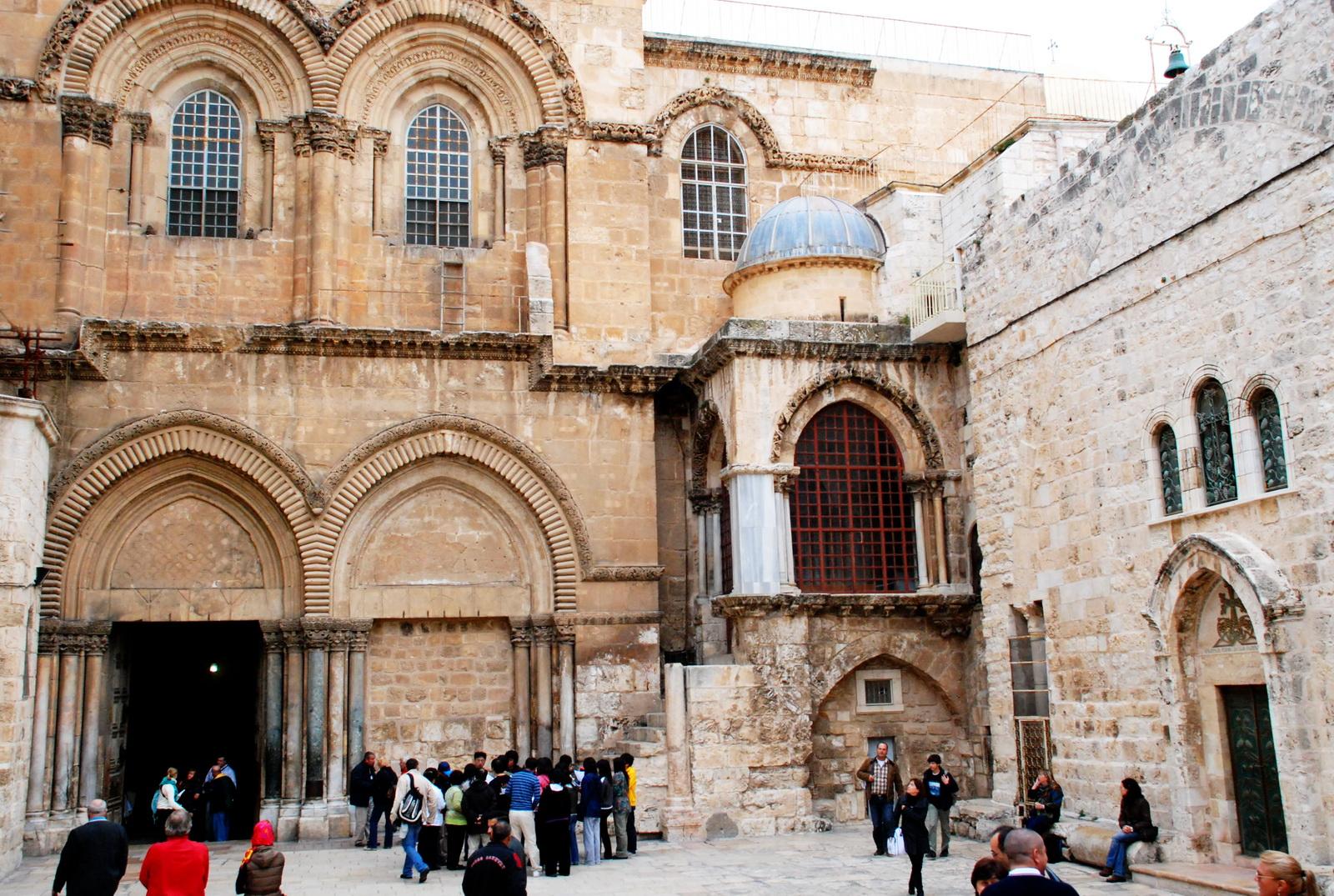 כנסיית הקבר - חזית המבנה